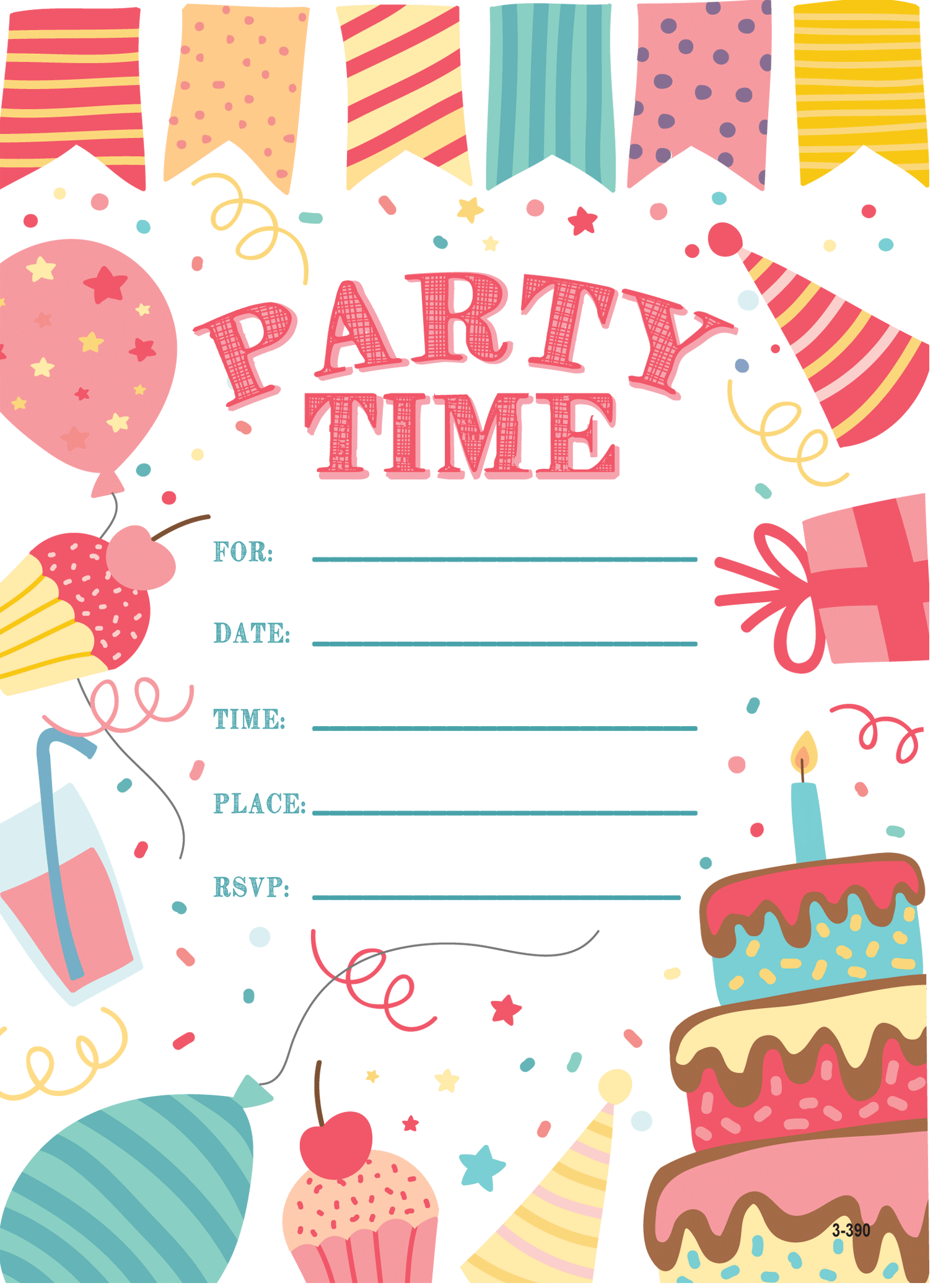 Stationery, Invitations, Party Needs & Paper For Kids: Childrens ...
